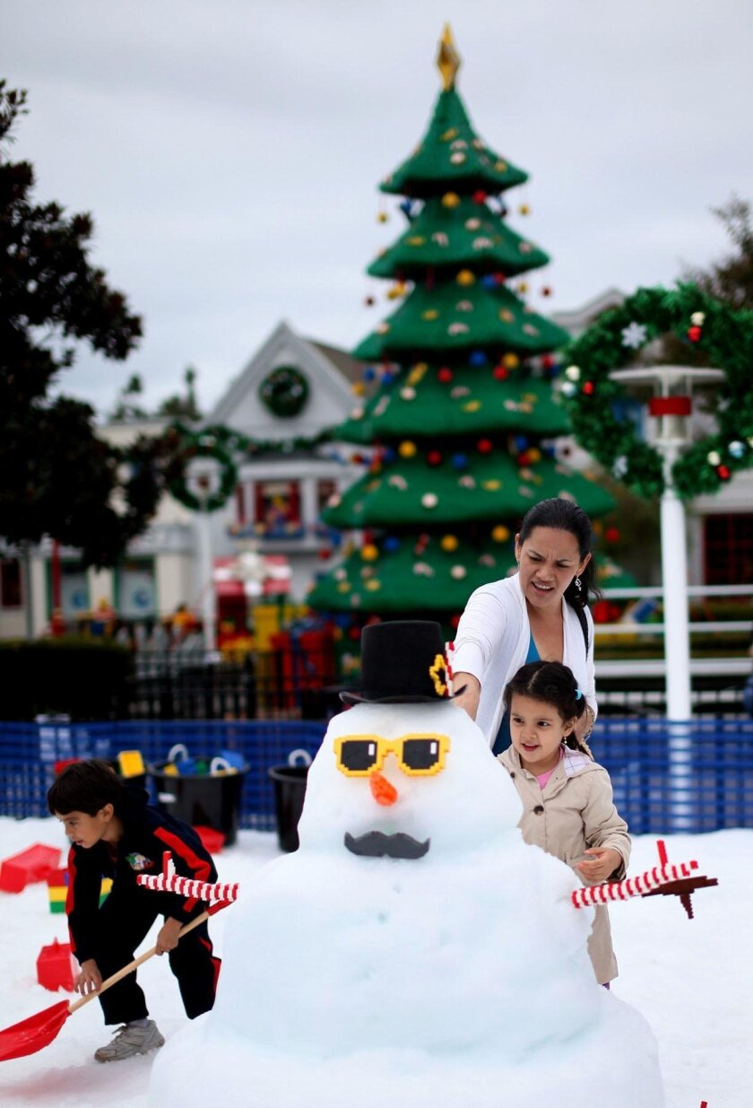 LEGOLAND snow fun