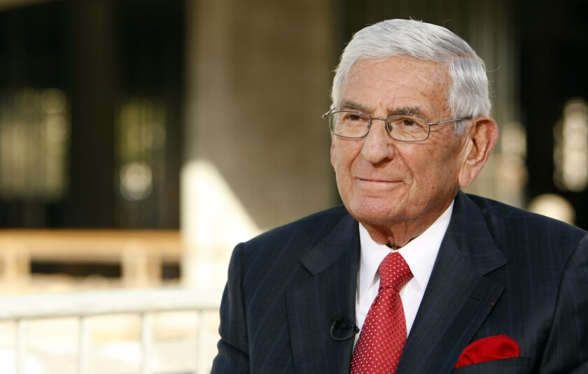 Eli Broad's foundation has suspended its urban education prize.