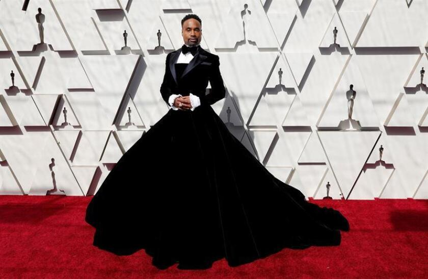 Billy Porter arrives for the 91st annual Academy Awards ceremony at the Dolby Theatre in Hollywood, California, USA, 24 February 2019. The Oscars are presented for outstanding individual or collective efforts in 24 categories in filmmaking. EPA/ETIENNE LAURENT
