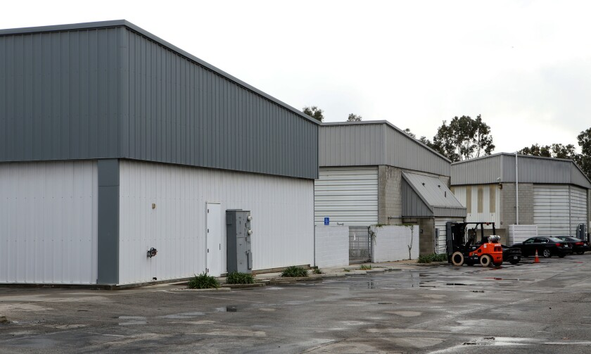 Hangar-style buildings are among the properties Snap has leased through 2022 from the city of Santa Monica near its airport.