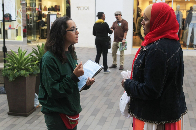 Greenpeace canvasses Westfield UTC