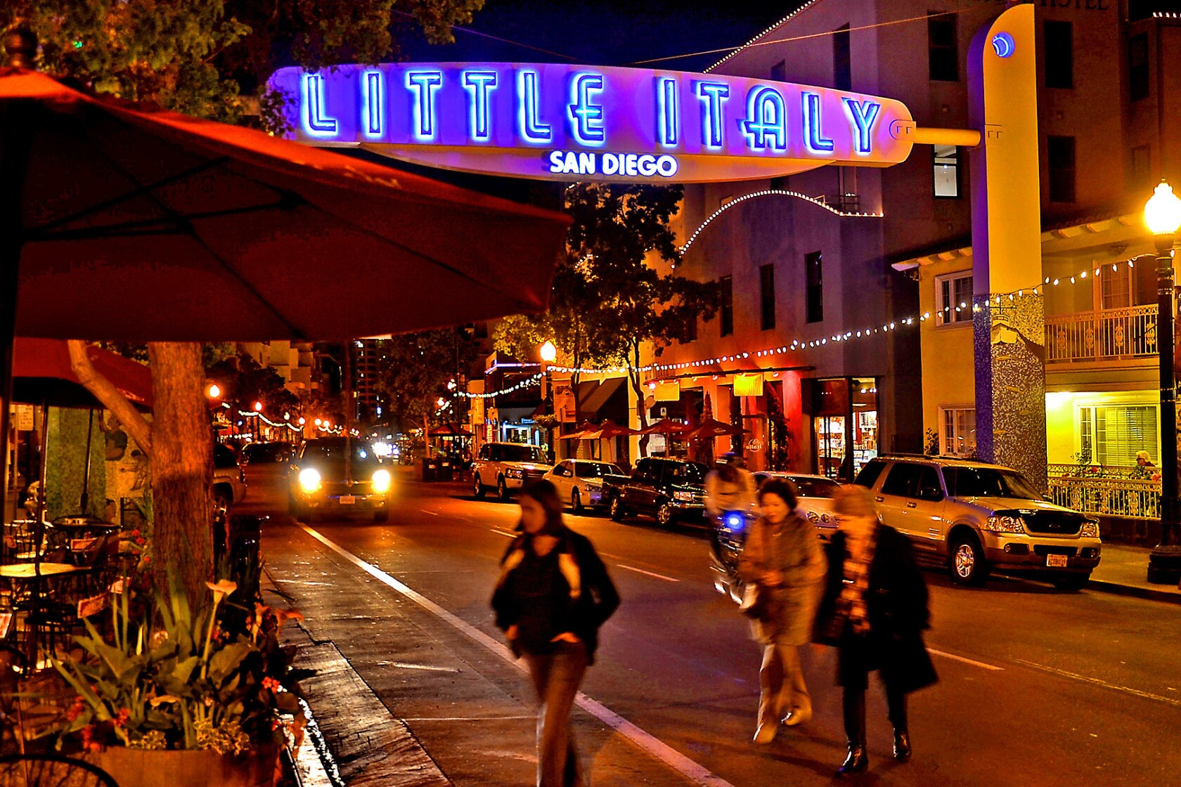 Weekend Escape: Foodies are hungry for San Diego's Little Italy, a hub for top chefs