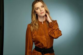 Betty Gilpin binge-watched 'The Crown' and caught a case of British accent