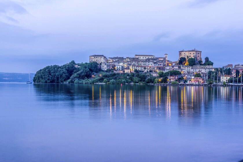 Capodimonte, in the region of Lazio, Italy.