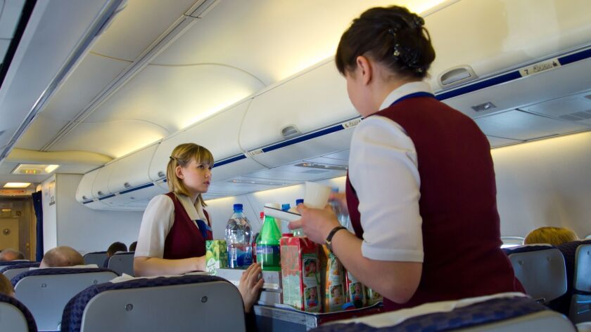 Flight attendants say they face frequent sexual harassment from passengers