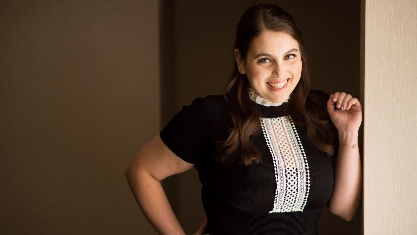 Actress Beanie Feldstein at the London Hotel in West Hollywood.