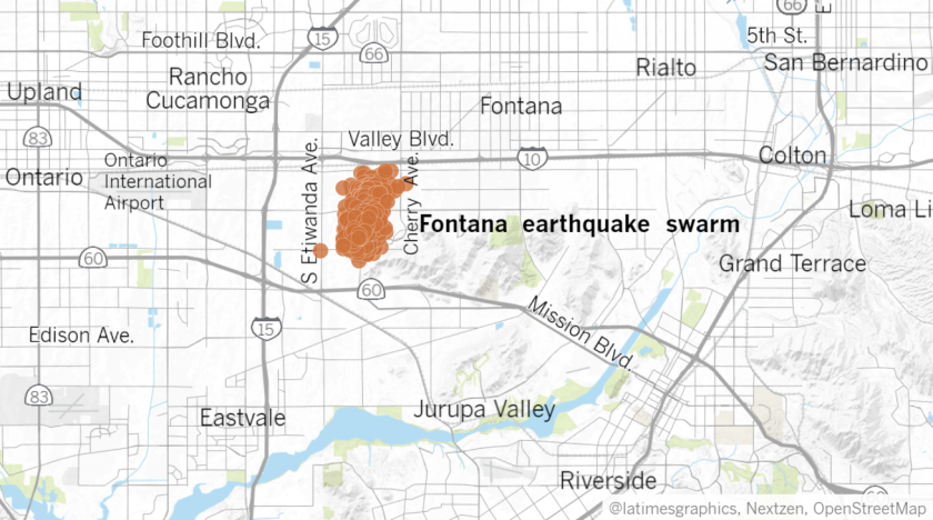 A swarm of 1,000 earthquakes hit Southern California — how nervous ...