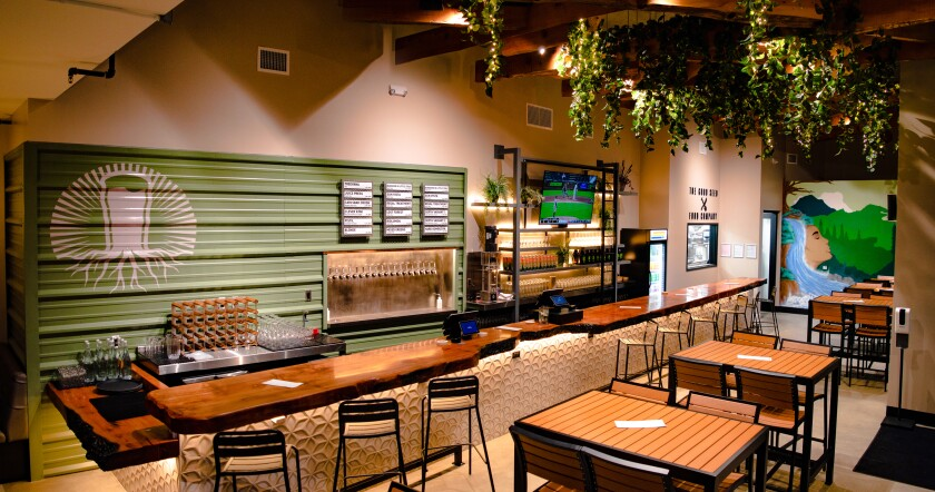 The Arbor, a Burgeon Beer restaurant and tasting room has opened in downtown San Diego.
