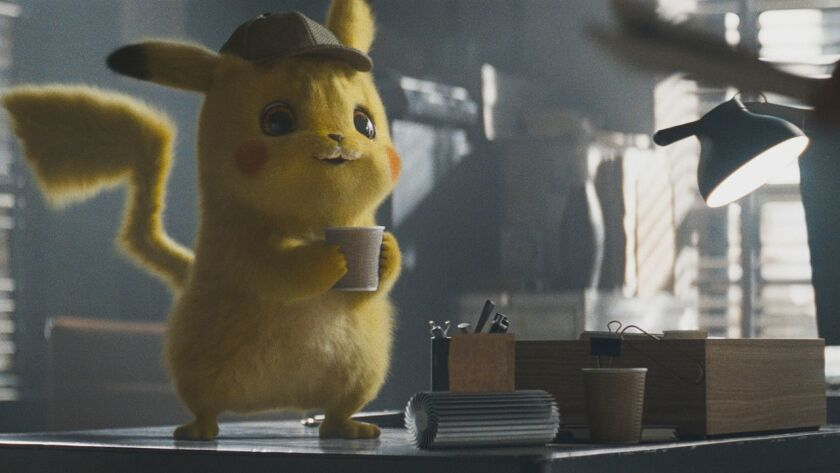 Detective Pikachu' director on how they made those realistic Pokémon