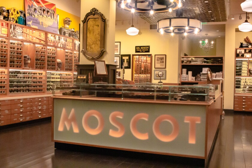 Optical brand Moscot eyes new chapter in L.A.