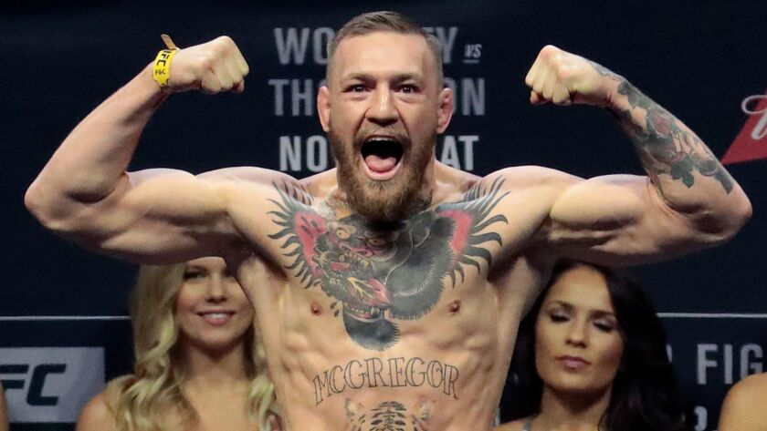 Conor McGregor hasn't taken part in a UFC fight since his November 2016 bout against Eddie Alvarez.