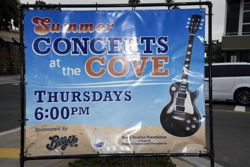 Concerts at the Cove