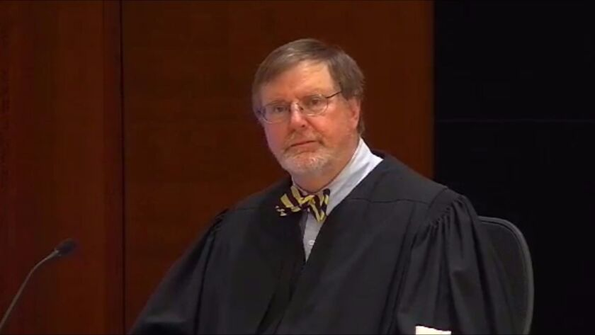U.S. District Judge James L. Robart issued the nationwide hold on President Trump's travel ban.