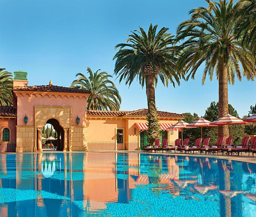 The pool at the Fairmont Grand Del Mar.