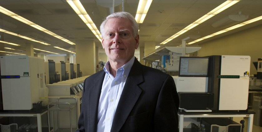 Jay Flatley is the outgoing CEO of Illumina.
