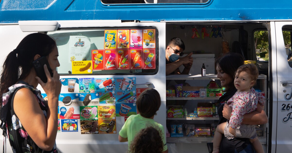 SpongeBob Popsicles, anyone? Parents compel ice cream vendor forced indoors to 'come back'