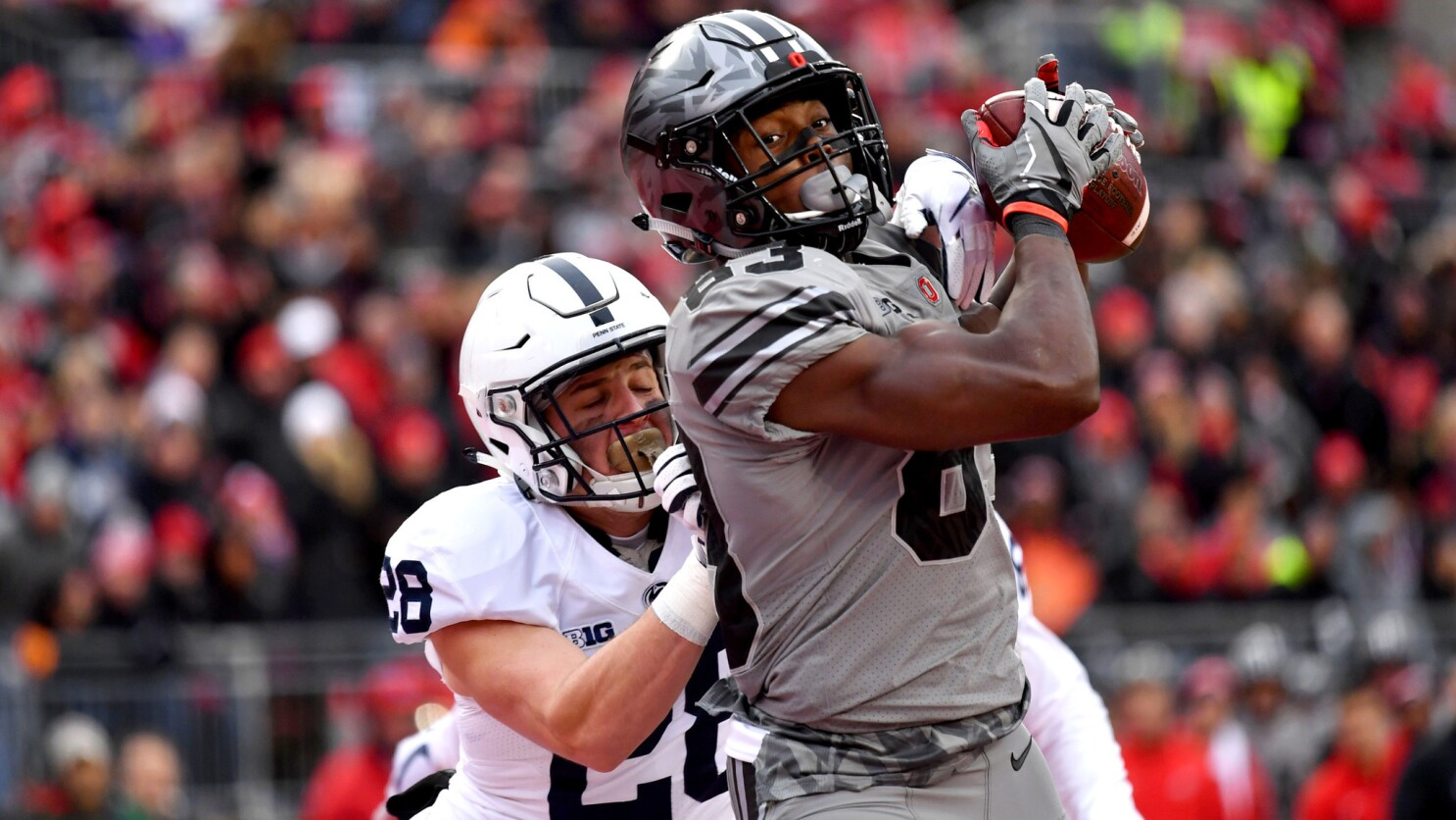 College football: Ohio State upsets No  2 Penn State