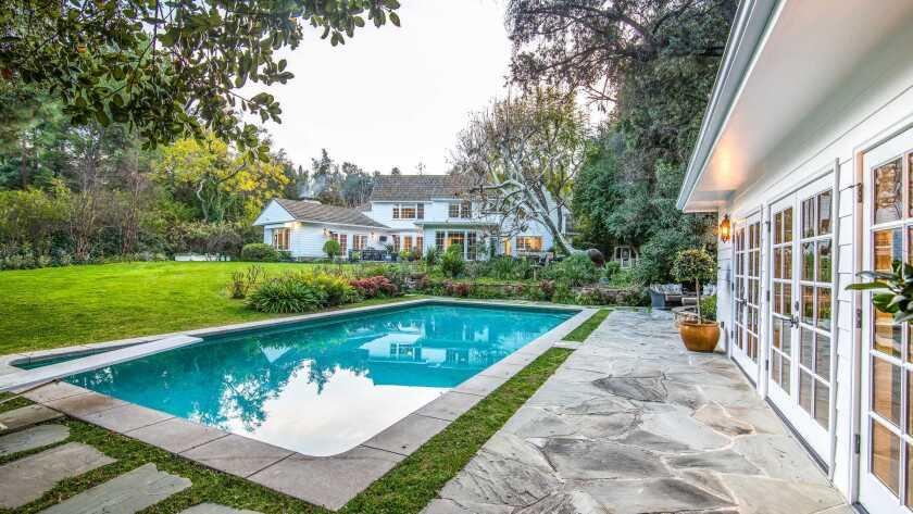 Billy Bush's Encino home   Hot Property