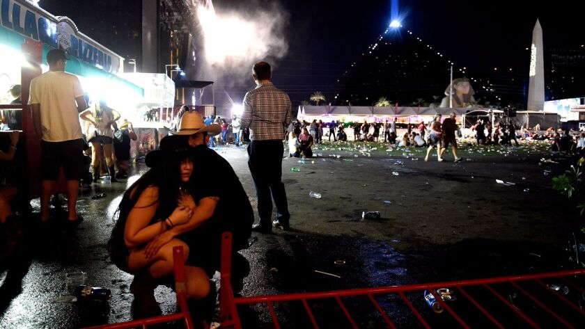 Today More Than 50 Dead In Las Vegas Strip Shooting Los Angeles Times