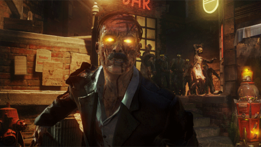 """Look for film noir-inspired zombies in """"Call of Duty: Black Ops 3."""""""