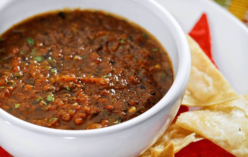 Costa Azul's salsa is made with six types of pepper. Read the recipe »