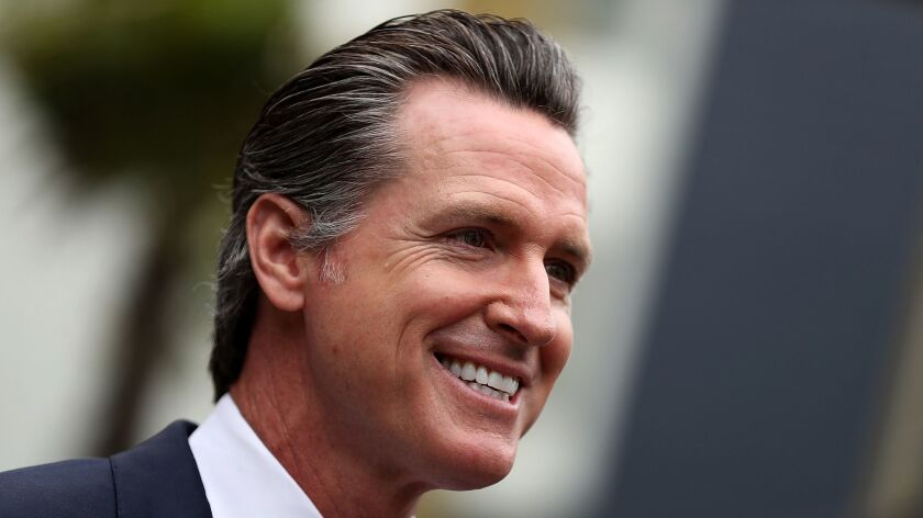 Read Gov  Gavin Newsom's prepared remarks for his first State of the
