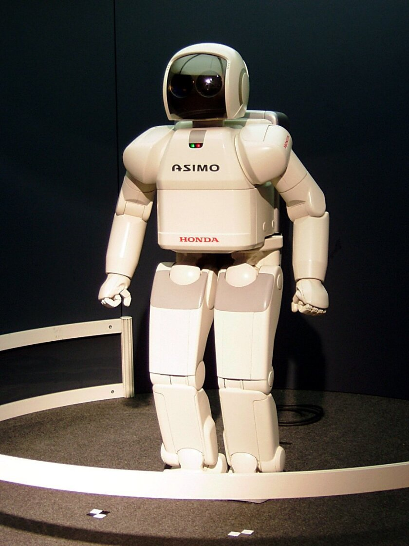 Will robots be commonly used as servants in 2112?
