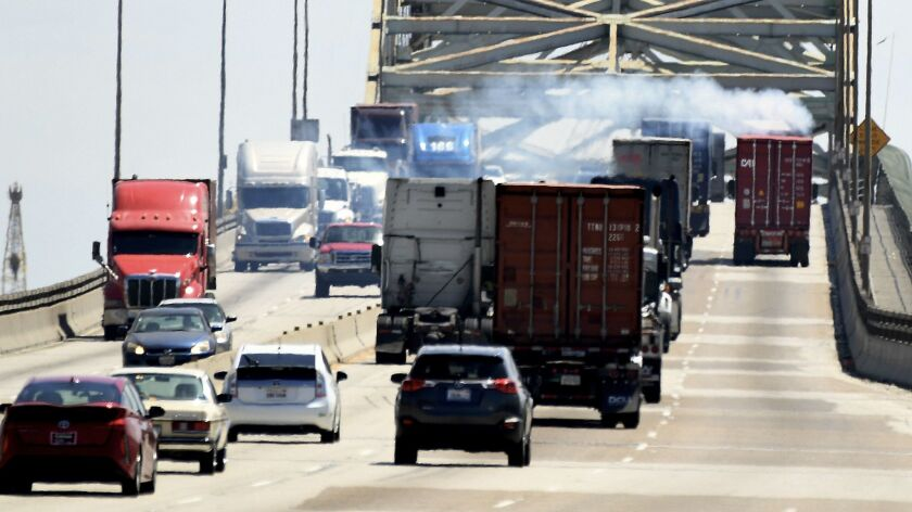 The Los Angeles and Long Beach port complex will seek to slash air pollution and health risks to Sou