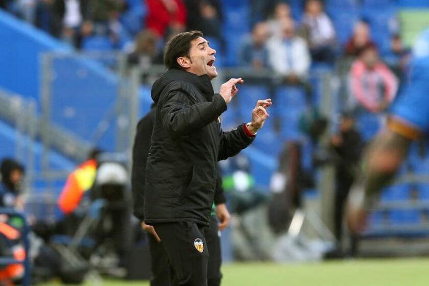 El entrenador del Valencia Marcelino García. EFE/Archivo