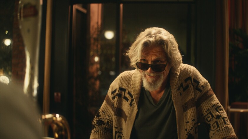 "Jeff Bridges reprises his role as ""The Dude"" in a Super Bowl ad for Stella Artois. The commercial is to raise money to combat water shortage."