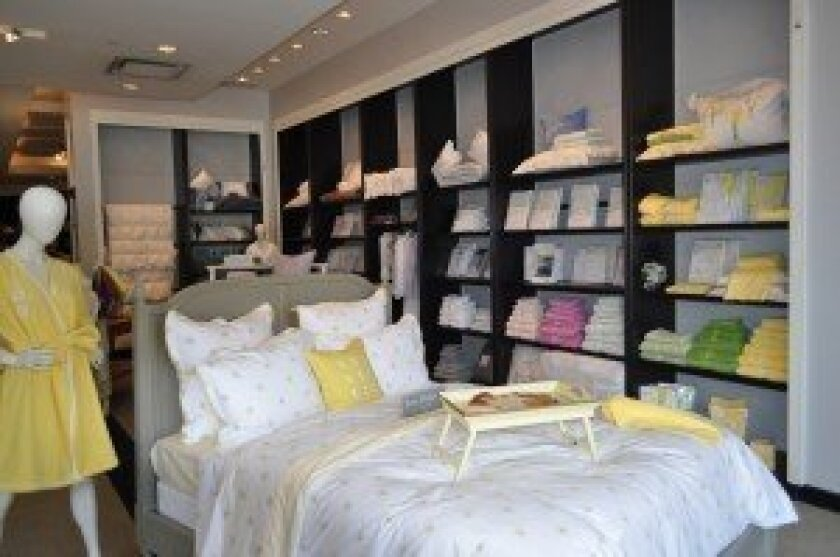 """Everett Stunz, San Diego's """"premier linen and bed store,"""" has been in La Jolla for 51 years. A new store recently opened in Westfield's University Town Center shopping mall located in the Nordstrom wing on the upper level. Courtesy photo"""