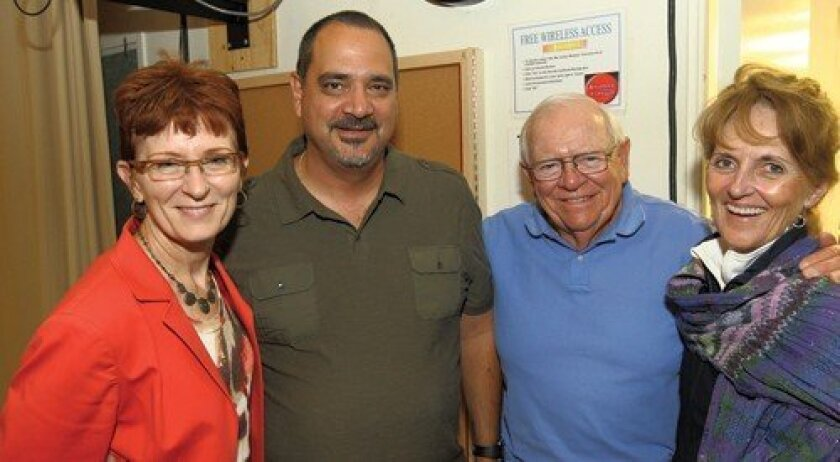 Crystal Crawford, Edward Kramer, Bob and Sylvia Hubbert (Photo: Jon Clark)