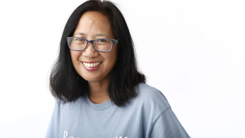 Thelma de Castro is a Filipino-American playwright whose work explores a variety of subjects and styles, such as underserved communities, including immigrants and incarcerated individuals.