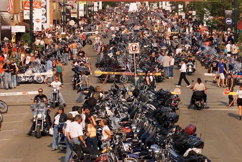 Annual Sturgis Motorcycle Rally