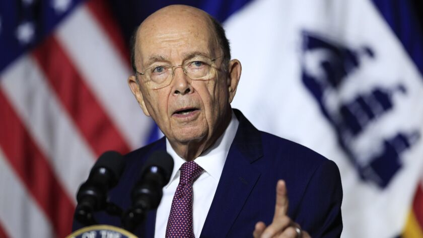 Commerce Secretary Wilbur Ross' decision to ask 2020 census respondents if they are citizens has been challenged in a suit by a dozen states and cities.