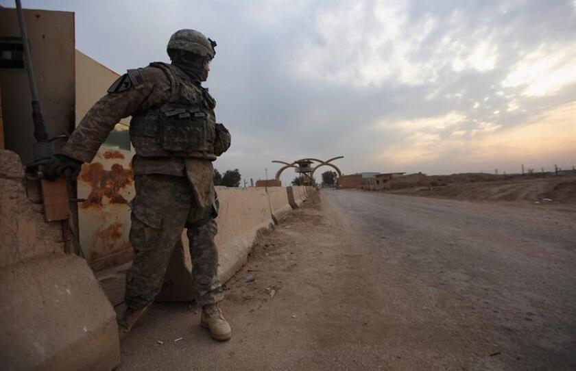 El Pentágono informó hoy de la muerte este domingo de un soldado estadounidense en Irak en circunstancias ajenas al combate que están bajo investigación. EFE/ARCHIVO