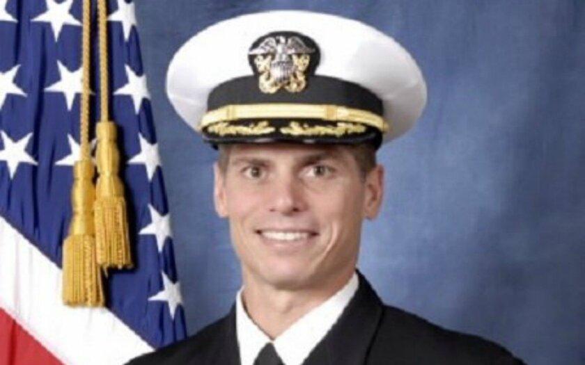Retired Navy Capt. David Haas