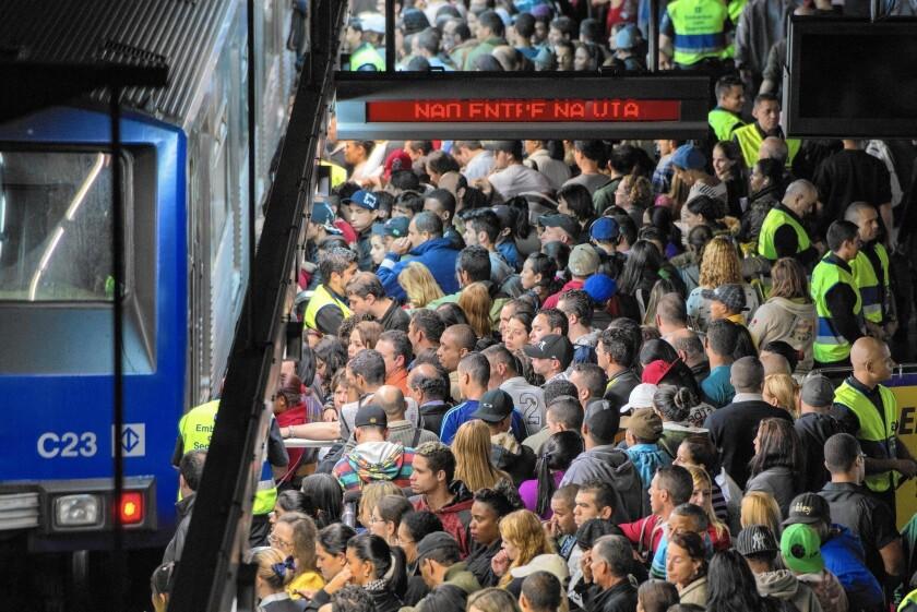 Chaotic public transit in Brazil