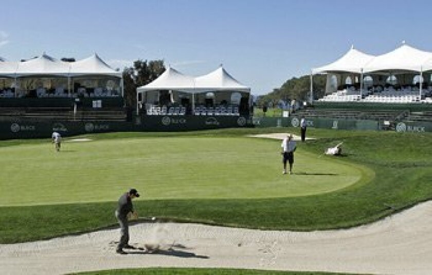 The Buick logo has been an annual fixture at Torrey Pines for nearly two decades, but it might not be back when the PGA returns next winter.