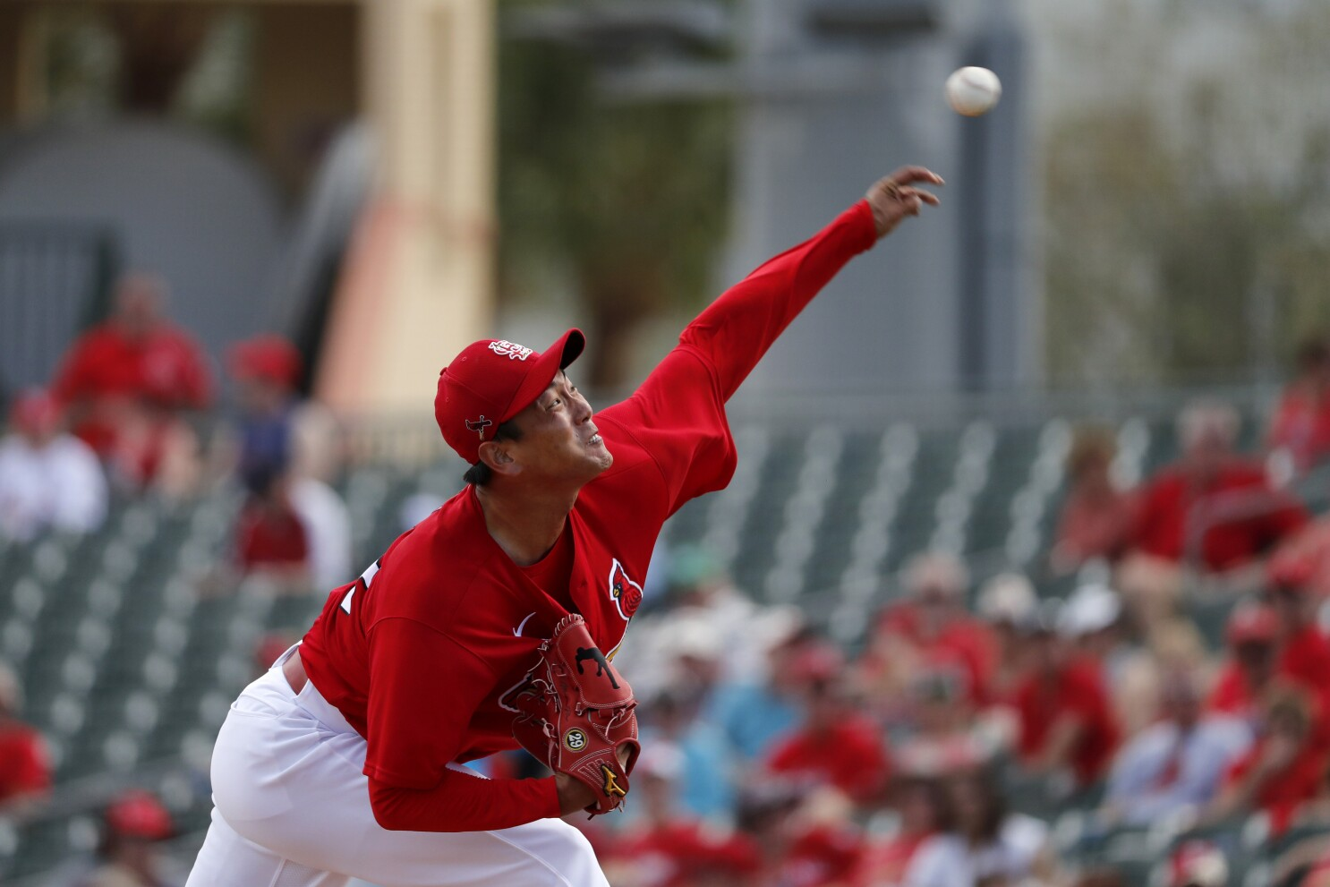 Kim Works Two Perfect Innings In Debut As Cardinals Starter The San Diego Union Tribune