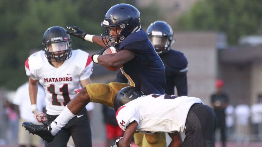 Rayon Benson and his Morse teammates will try to pull the upset in taking on No. 9-ranked Lincoln.