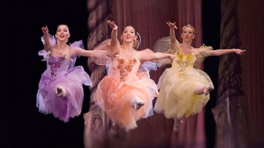 """The California Ballet has staged """"The Nutcracker"""" at the San Diego Civic Theatre since 1971."""