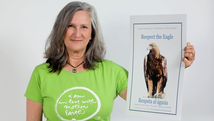 Laura Hunter, a member of the board of directors of the Environmental Center of San Diego.