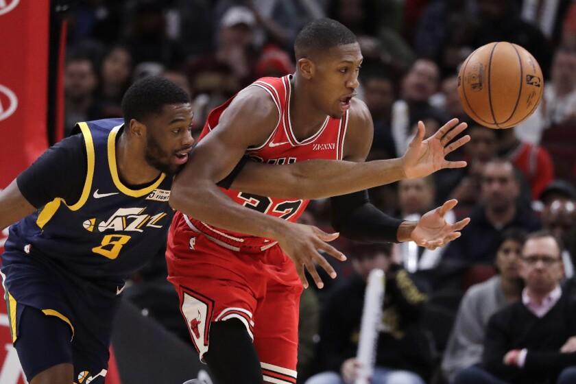 Jazz Bulls Basketball