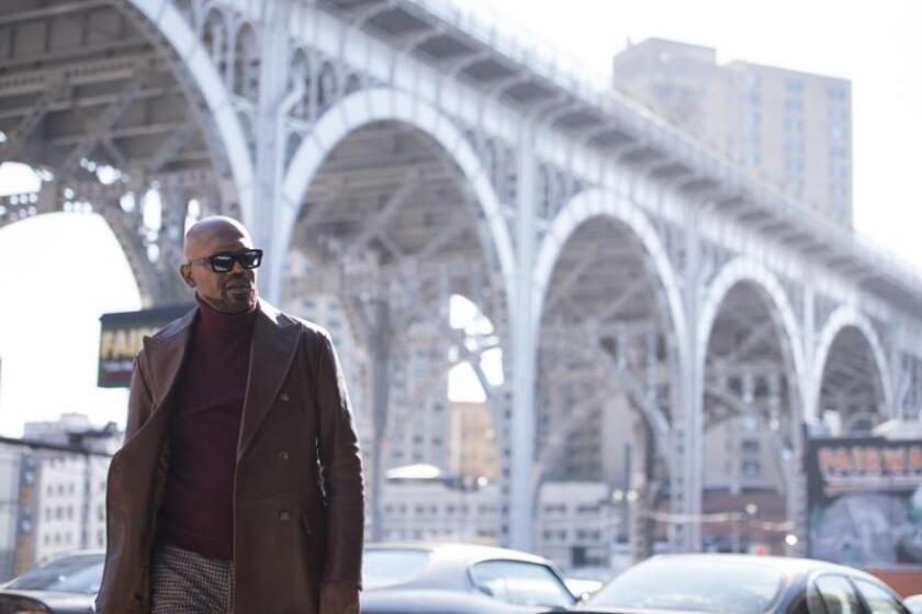 """Samuel L. Jackson combina humor y disparos en la nueva entrega de """"Shaft"""""""
