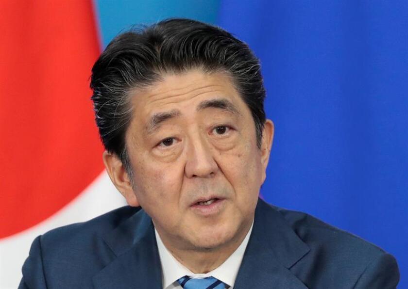 El primer ministro de Japón, Shinzo Abe. EFE/Archivo