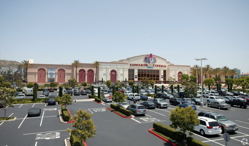 The Edwards Cinema was included in the top commercial real estate sale so far in 2016 in San Diego County -- the Mira Mesa Marketplace.