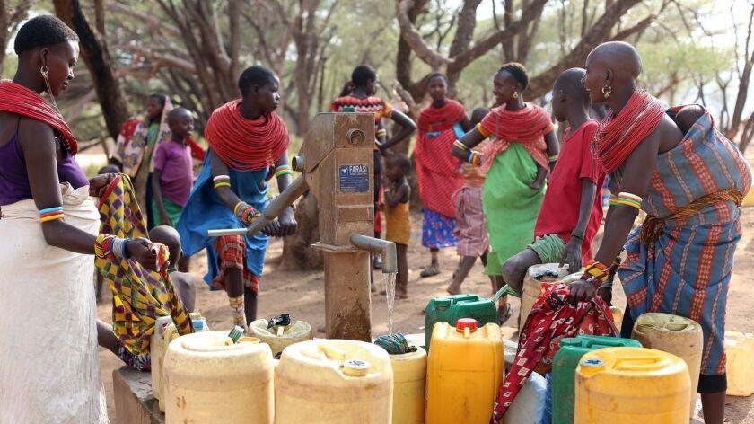 The Samburu Project builds wells in Kenya's northern Samburu region.