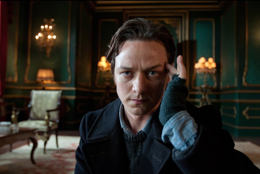 """In this film publicity image provided by 20th Century Fox, James McAvoy portrays Charles Xavier in a scene from """"X-Men: First Class."""" The """"X-Men"""" franchise will get another boost in 2016 with the release of """"X-Men: Apocalypse."""" (AP Photo/20th Century Fox, Murray Close)"""