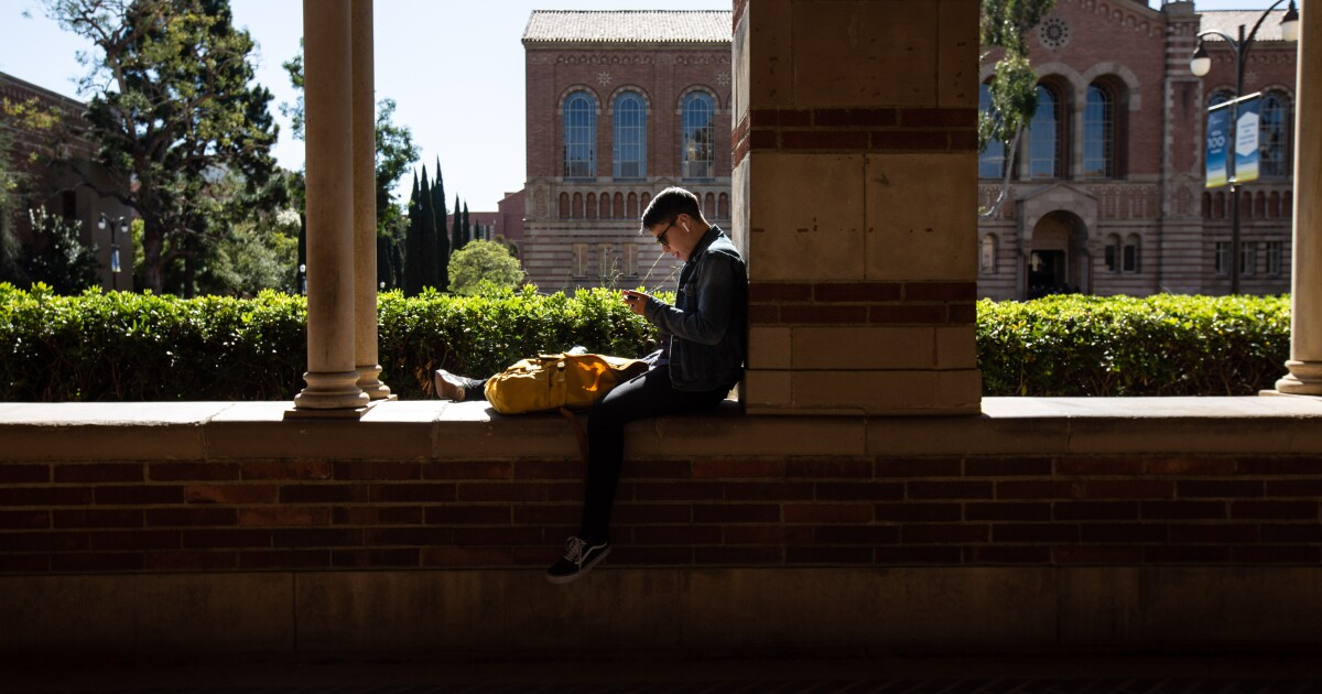 Chris Reed: Is UC's decision to drop SAT mandate really about reducing Asian enrollment?